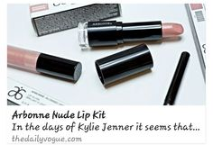The Daily Vogue recommends Arbonne lip colours for the popular Kylie Jenner nude lip.   http://www.thedailyvogue.com/beauty/arbonne-nude-lip-kit-2/