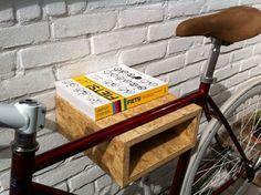 OSB Bike Wall Rack