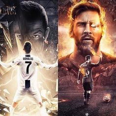 Best player this season❓🌎 By Lionel Messi, Cristiano Ronaldo And Messi, Cristiano Jr, Messi Vs Ronaldo, Messi Fans, Messi And Neymar, Ronaldinho Wallpapers, Cristiano Ronaldo Wallpapers, Soccer Memes