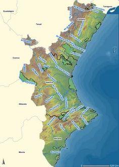 hidrografia de la comunidad valenciana - Buscar con Google