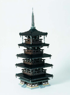 El Patrimonio de la Humanidad de Japón hecho en Lego