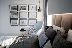 Sypialnia idealna na chłodniejszy wieczór - Sypialnia, styl klasyczny - zdjęcie od Base Architekci
