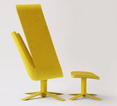 mike and maaike: windowseat chair for haworth collection by - designboom
