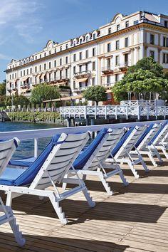 Stunning Pool - Villa D'este -  Lake Como - Italy.