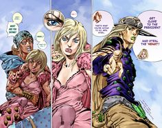 JoJo's Bizarre Adventure Part 7: Steel Ball Run - vol 90 ch 40 Page 17 | Batoto!
