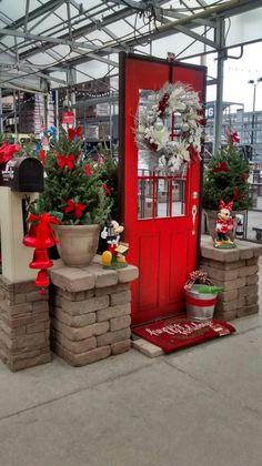 Christmas Welcome Door Kathy Collins Lowe S Garden Center 2274