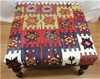 Kilim stool