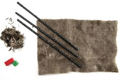 This needle-punching material is a non-woven basalt fabric made out of chopped basalt fiber.