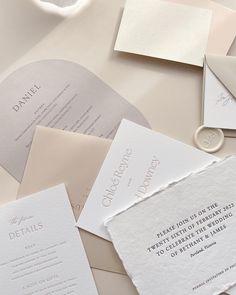 IVORY + STONE - Letterpress Wedding Invitations Made in Australia – Ivory and Stone Wedding Stationery Trends, Letterpress Wedding Invitations, Wedding Stationary, Wedding Invitation Cards, Invite, Etiquette, The Balm, Our Wedding, Wedding Planning