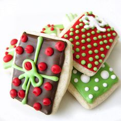 adorable xmas cookies!