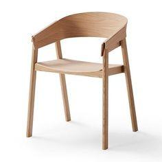 Muuto - Cover Armlehnstuhl - eiche natur/lackiert