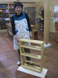 2009年5月19日 みんなの作品【本棚・棚】|大阪の木工教室arbre(アルブル)