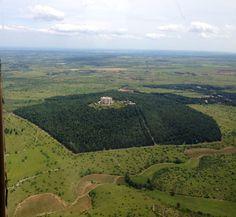 parco nazionale dell'alta murgia puglia -veduta aerea di Castel del monte  Cerca con Google