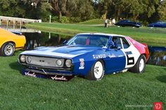 Photo gallery, award winners and results from the Amelia Island Concours held March 13 at the Golf Club of Amelia Island Ritz-Carlton in Florida. Amc Javelin, American Motors, Heavy Machinery, Pony Car, Trans Am, Amelia Island, Monster Girl, Retro Cars, Auto Racing