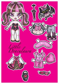 Little+Draculaura+by+Mauau.deviantart.com+on+@deviantART