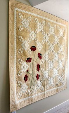 Daisies and Lattice by Kathleen Whiting. Waiting for pattern to come out!
