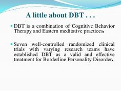Dialectical behavior therapy (2)