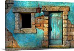 The Blue Door #teal
