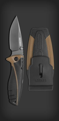 GERBER Myth Folding Sheath Knife | Drop point
