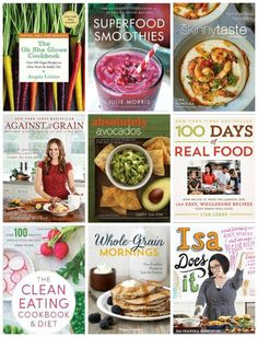 Wellness Wednesday: 10 Healthy Cookbooks You Need to Read