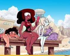 Steven universe :: сообщества / красивые картинки и арты, гифки, прикольные комиксы, интересные статьи по теме.