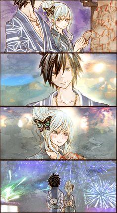 gruvia, fairy tail, and anime image Fairy Tail Juvia, Fairy Tail Gray, Fairy Tale Anime, Fairy Tail Love, Fairy Tail Ships, Fairy Tales, Fairy Tail Characters, Anime Characters, Couples Fairy Tail