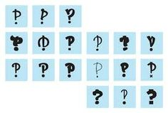 Selection of 18 wonderful Interrobangs published by IAQ Graphic Design #Typography #Interrobang #Design