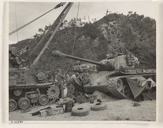 M26 Pershing, Department Of The Navy, Still Picture, National Archives, Korean War, Marine Corps, Us Army, Tanks, Battle