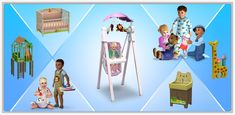 Tip Top Toddler Collection - Store - The Sims™ 3