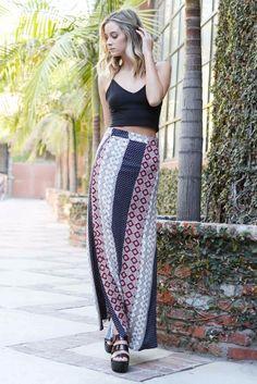 Bohemian Retro Skirt