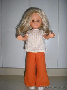 Muñeca Nancy rubia de 1968 en todocoleccion.
