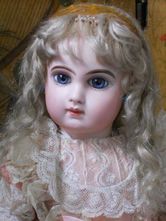 ~~~ Superb French Bisque BeBe E.J. with Splendid Eyes ~~~