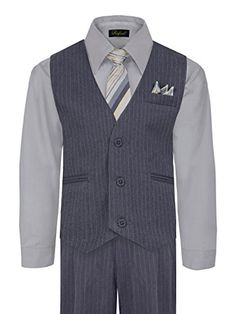0f3cfe02f Amazon.com  Boy s Vest and Pant Set