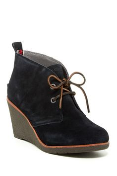 Harlow Wedge Bootie