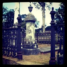 cemetery- Whose grave is this?  I wish I knew.