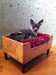 UpScaled Upcycled Recycled Luxury Wine Crate...love it!