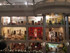 Christmas at the White House in Miniature