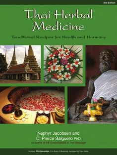 Thai Herbal Medicine book. Recommended by IATITAI. Beauty Body Balance