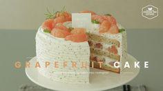 Earl grey Grapefruit cake