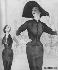 черно беліе фото моделей 30-50 годов - Поиск в Google