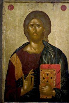 Christ the Saviour Byzantine Icons, Byzantine Art, Christ Pantocrator, Christian Stories, Russian Icons, Best Icons, Catholic Art, Art Icon, Orthodox Icons