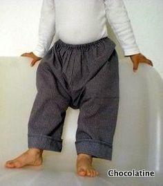 DIY Petits Sarouel Pants PDF Pattern Boy or Girl Easy Sewing 3 months to 4T. $5,50, via Etsy.