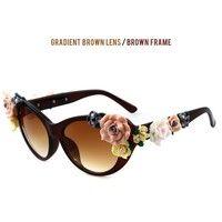 sunglasses,women' fashion,spring,summer,flower,flower sunglasses,girls,vintage,fashion,wearing,sunshine