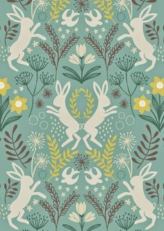 print & pattern: FABRICS - lewis & irene