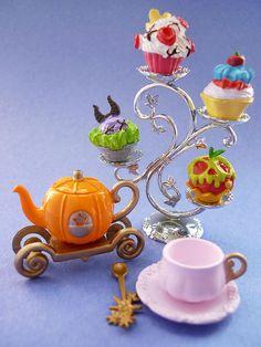 Princesses cupcakes.