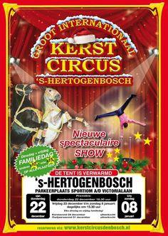 Nieuw, er komt weer een kerstcircus in Den Bosch na een jaar afwezigheid.