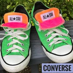 d99ff1568afc 15 Best Neon converse images | Converse all star, Converse shoes ...