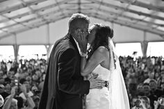 You may kiss the bride in front of hundreds of bikers