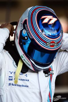 Valtteri Bottas, Williams at Australian GP High-Res Professional Motorsports Photography Custom Motorcycle Helmets, Racing Helmets, Formula Drift, Formula One, Helmet Armor, Williams F1, Valtteri Bottas, Helmet Paint, Kart Racing