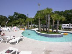 Image of:  - Pirateland Family Campground, Myrtle Beach, South Carolina... I love this place!